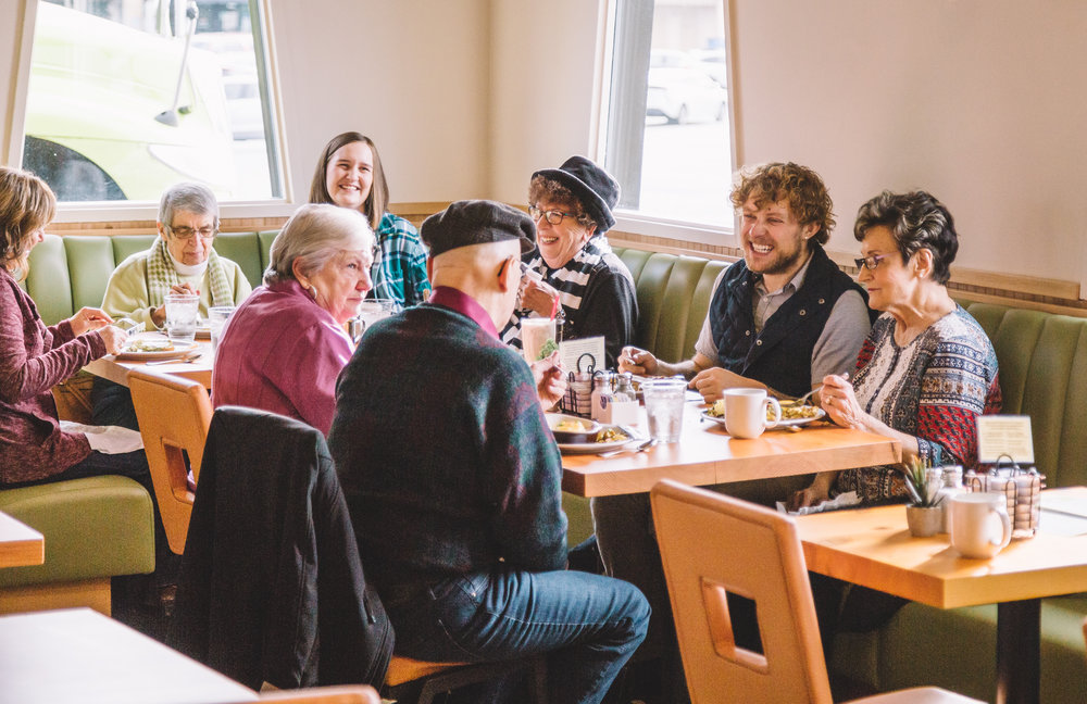 The Diner Vancouver is addressing senior isolation with opportunities for affordable, multi-generational dining seven days a week. Photo courtesy of MOWP/Tom Cook.