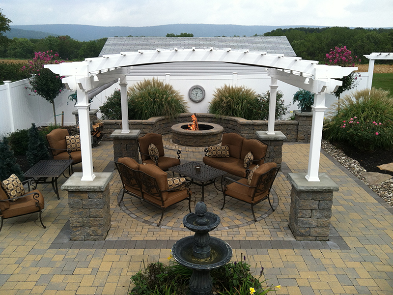 Beautiful landscaping patio ideas in Berks County, PA