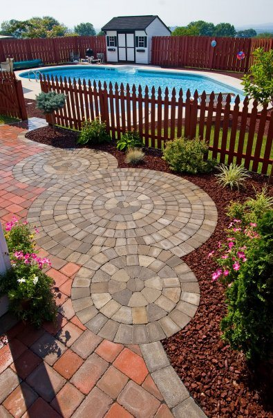 Inspiring landscape patio ideas in South Whitehall, PA