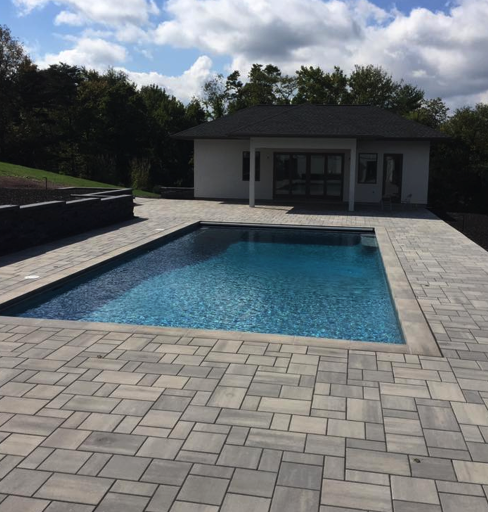 Landscape and backyard design contractor in Reading, PA