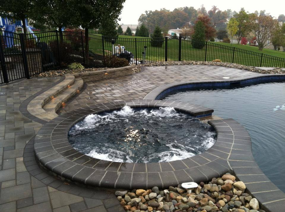 Stunning Landscape Design Made By Authorized Unilock Contractor In Reading,  Exeter, PA