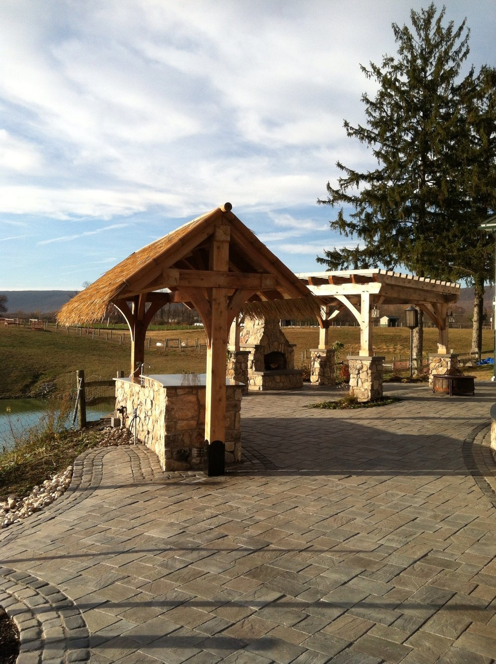 Landscape desgin with top landscaping pavers in Schuylkill County, PA