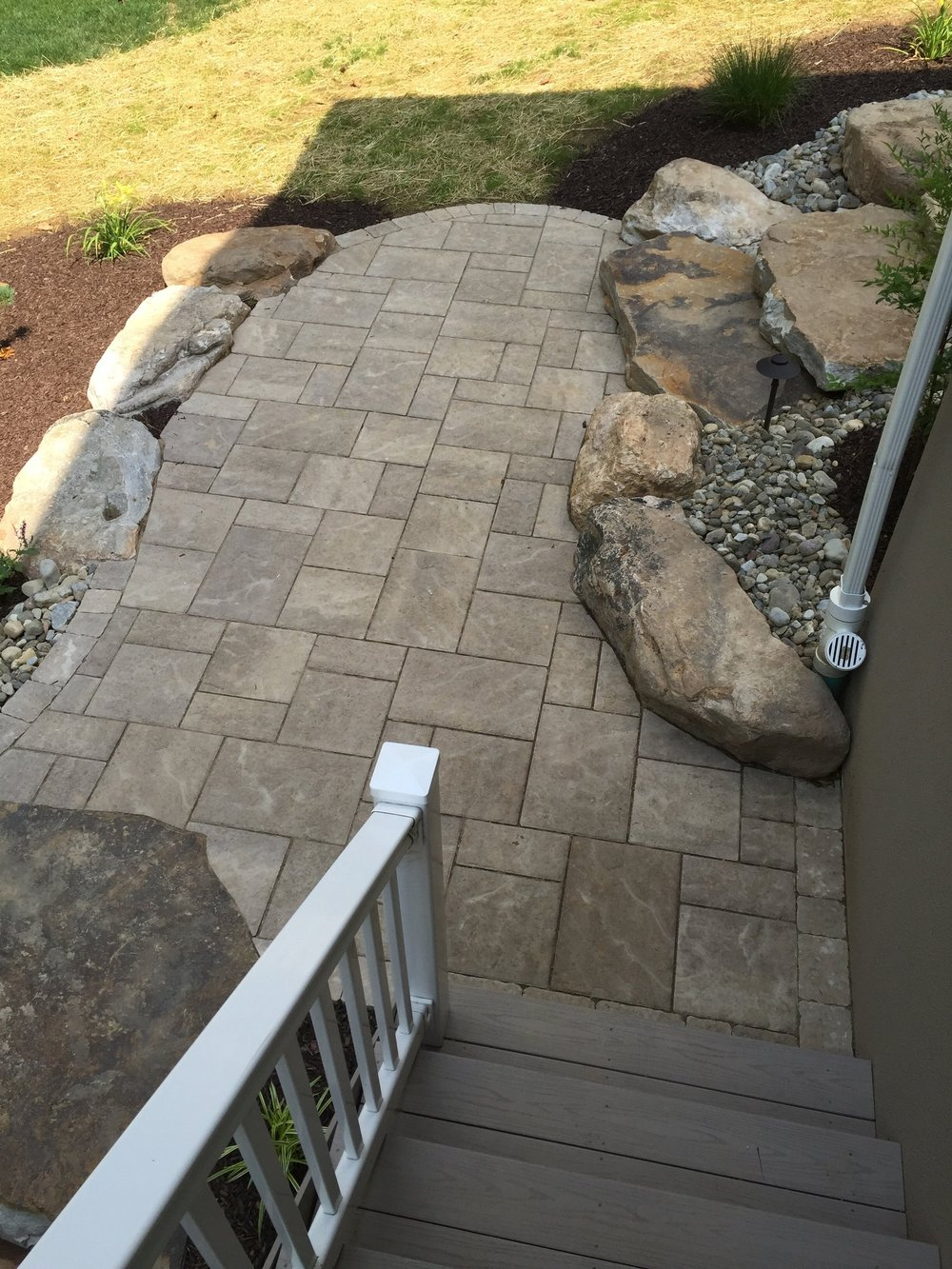 Top landscape design with a patio in Lebanon, PA