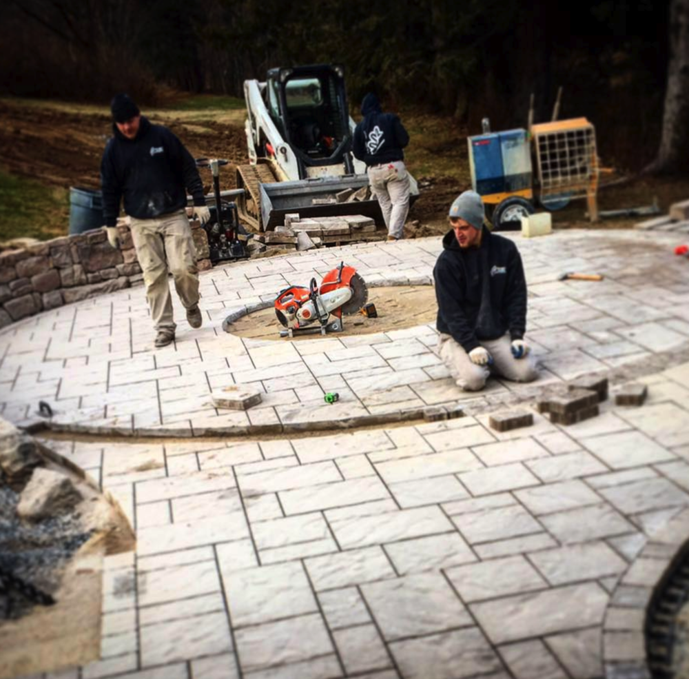 Professional landscaping pavers in Lehigh county, PA