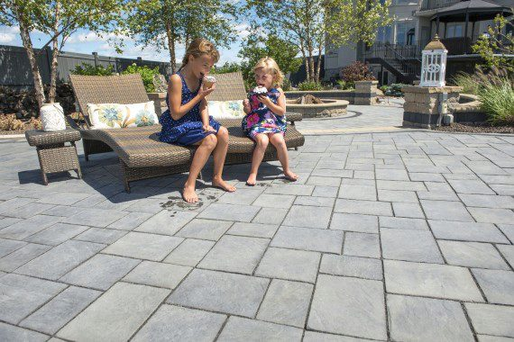 Natural Stone Vs Concrete Paver Patio For Your Reading PA Home
