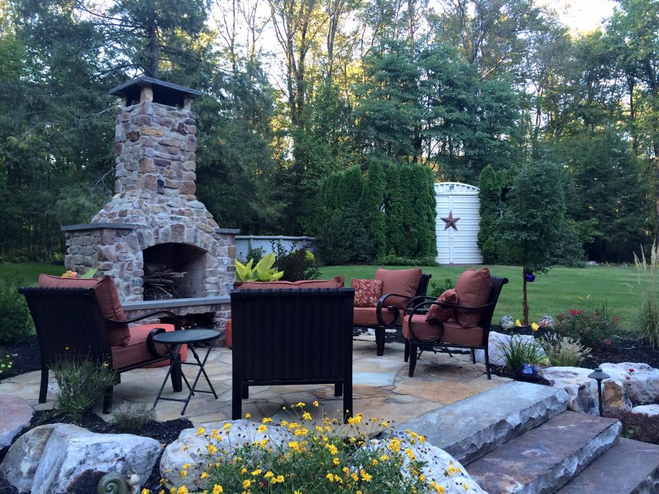 Your Outdoor Fireplace as an Eye-Catching Design Feature in Lebanon PA