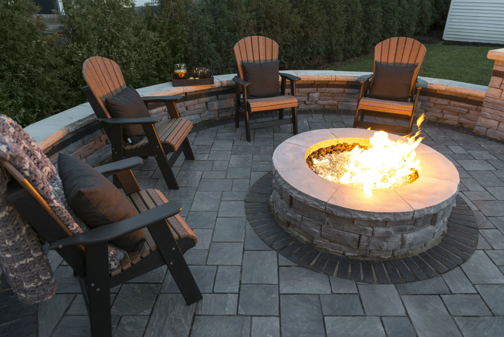 Making a Fire Pit the Centerpiece of your Berks County PA Backyard