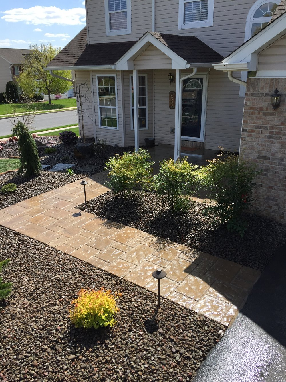 Hire a Landscape Contractor to Create an Eye-Catching Front Entrance in Lebanon County, PA