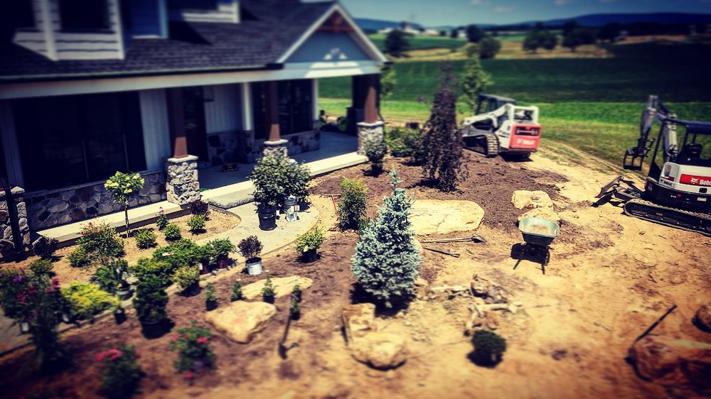 Top landscape contractor in Wayne Township PA