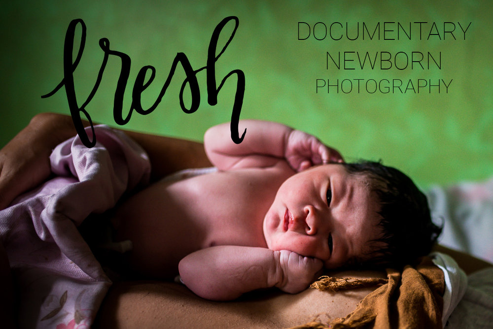 Grand Rapids Fresh 48 Documentary Newborn Photography