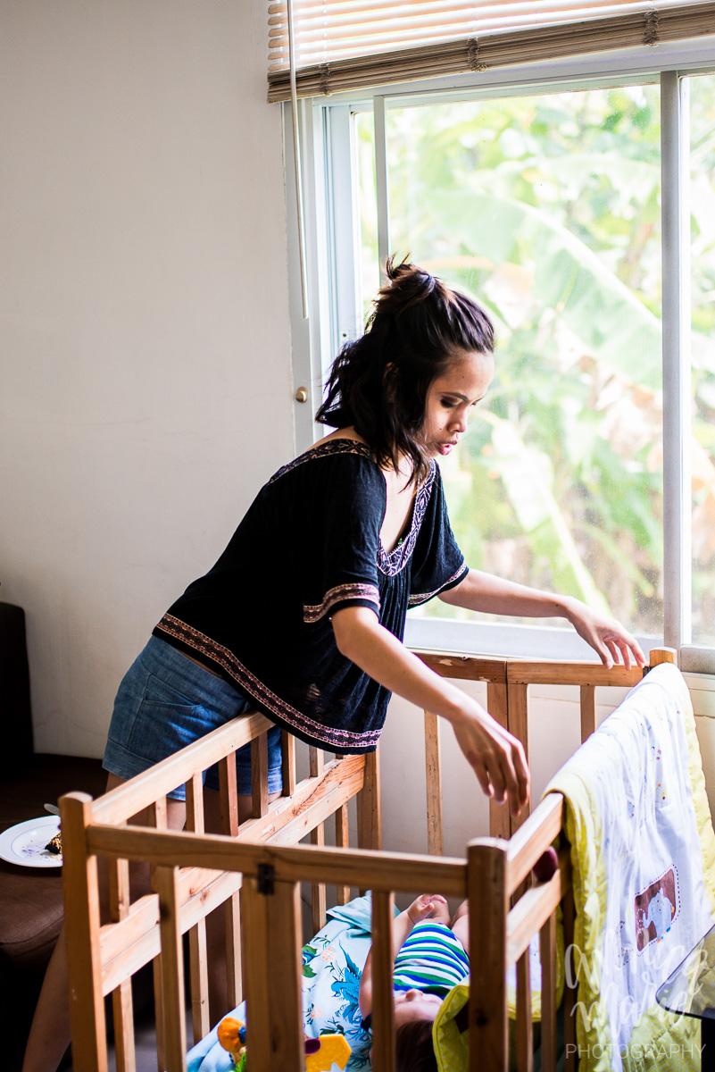 folding blanket in crib