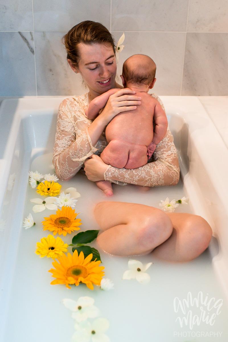 baby bum floral milk bath