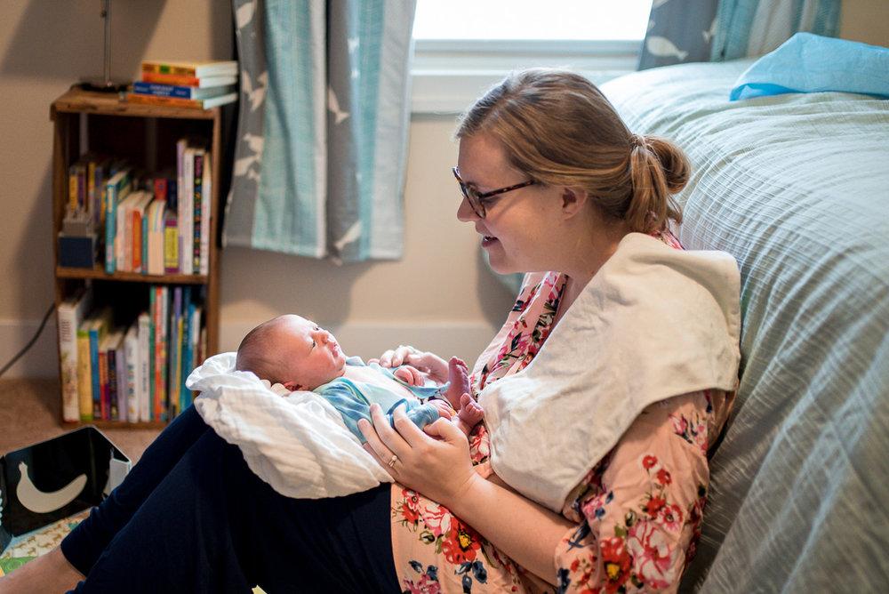 postpartum recovery healing new baby