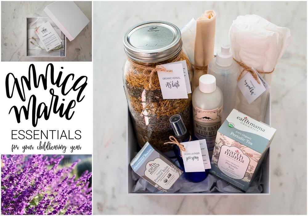 Annica Marie Essentials Lavender flowers the care bundle sitz bath