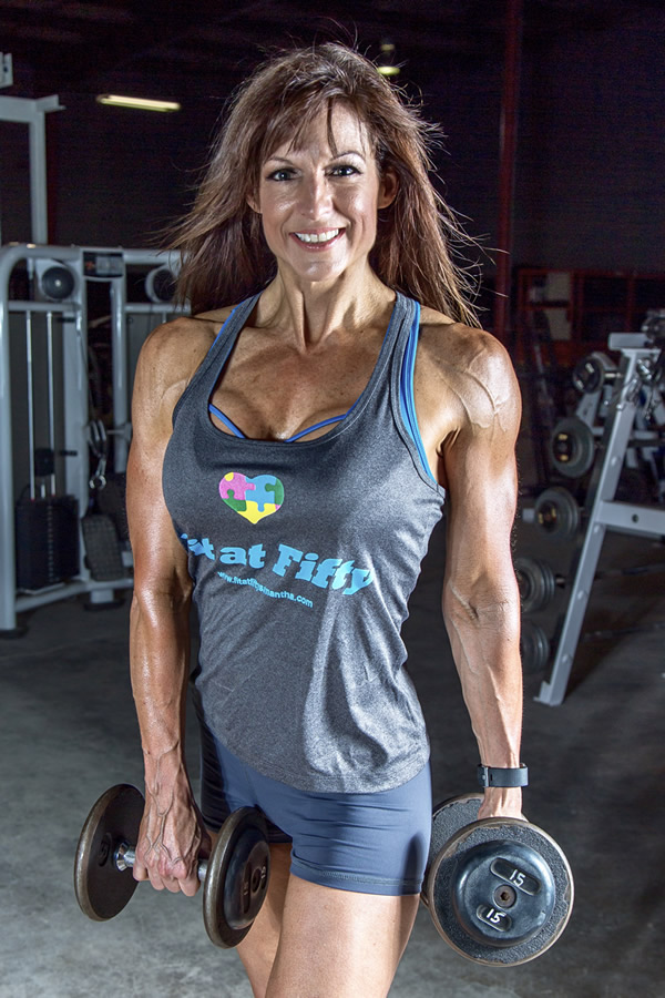 Samantha Bowman - Fit at 50