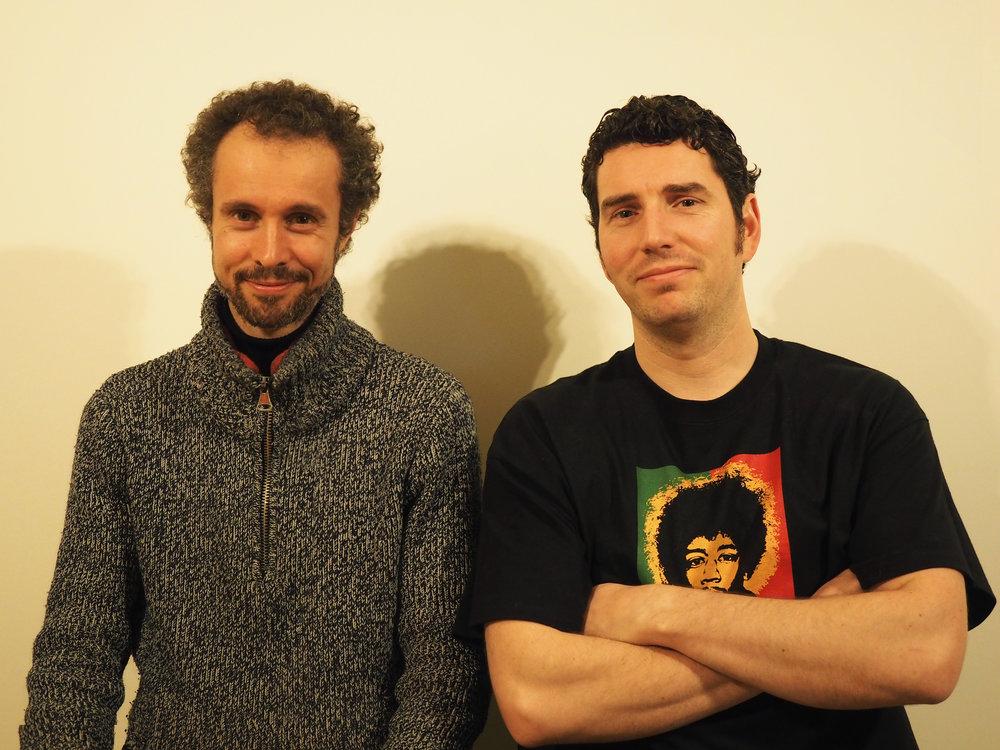 Mounzer Sarraf and Simon Corthouts