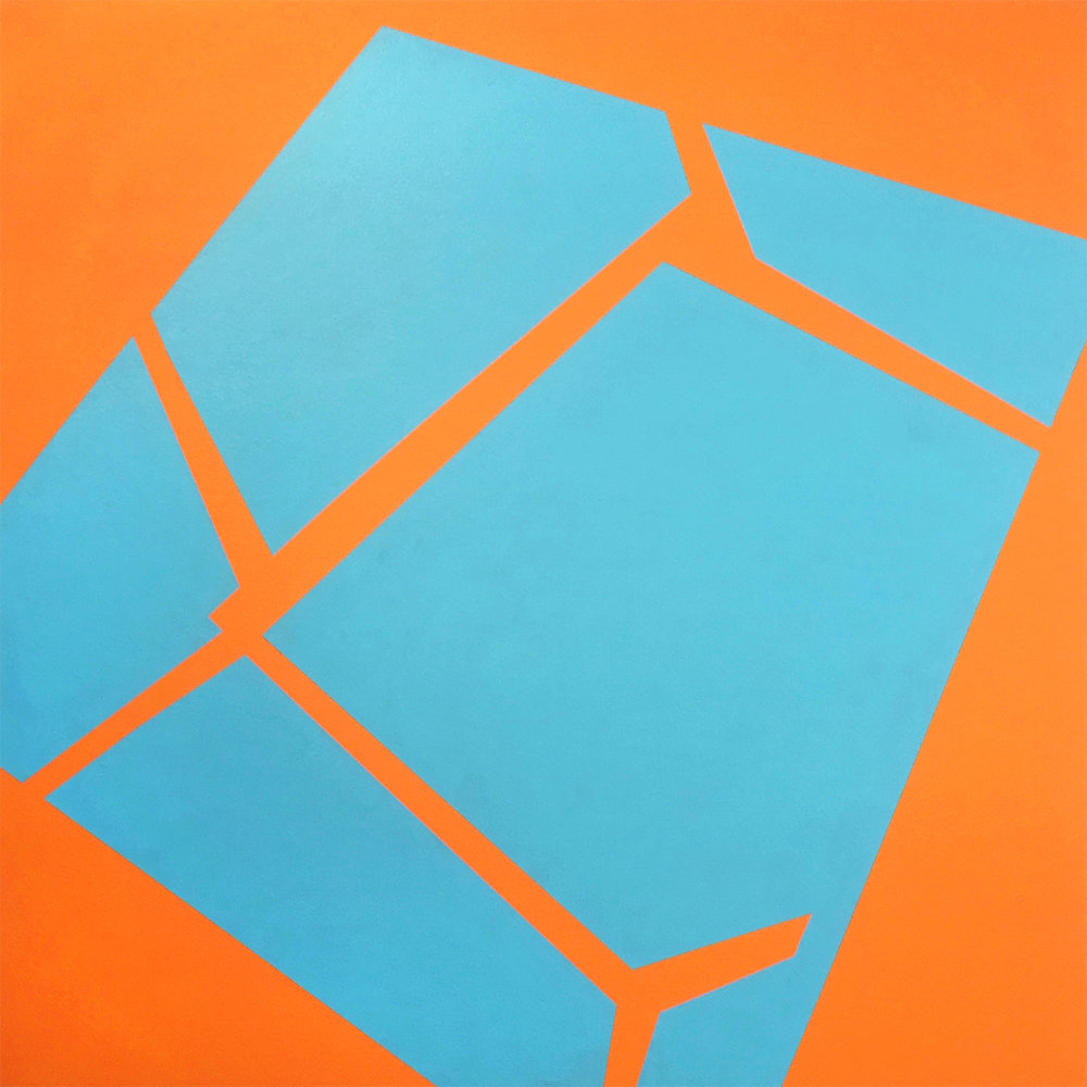 PLACE OF DIFFERENCE: Light Blue and Pyrrole Orange