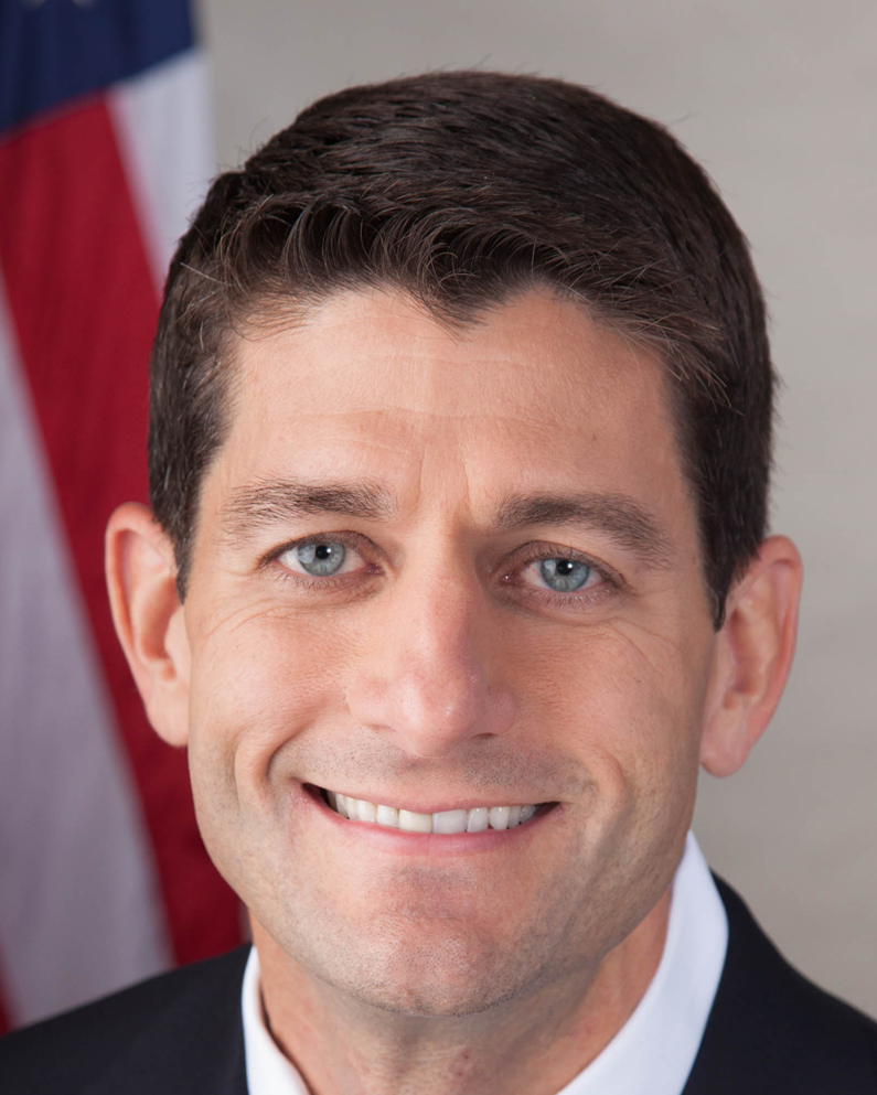 Speaker Paul Ryan--this is a tough one to call. He either whitens, has had ortho and has very nice set of natural teeth, or they are a very nice set of veneers. We're leaning toward natural teeth due to some very slightly variation in tooth alignment.