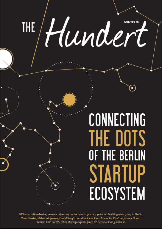 RoadsWellTraveled featured in the Hundert Magazine- Connecting the dots of the Berlin startup ecosystem