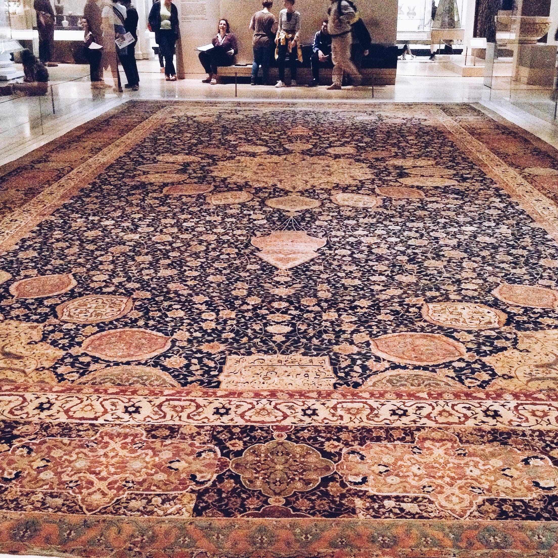 Ardabil carpet_V&A