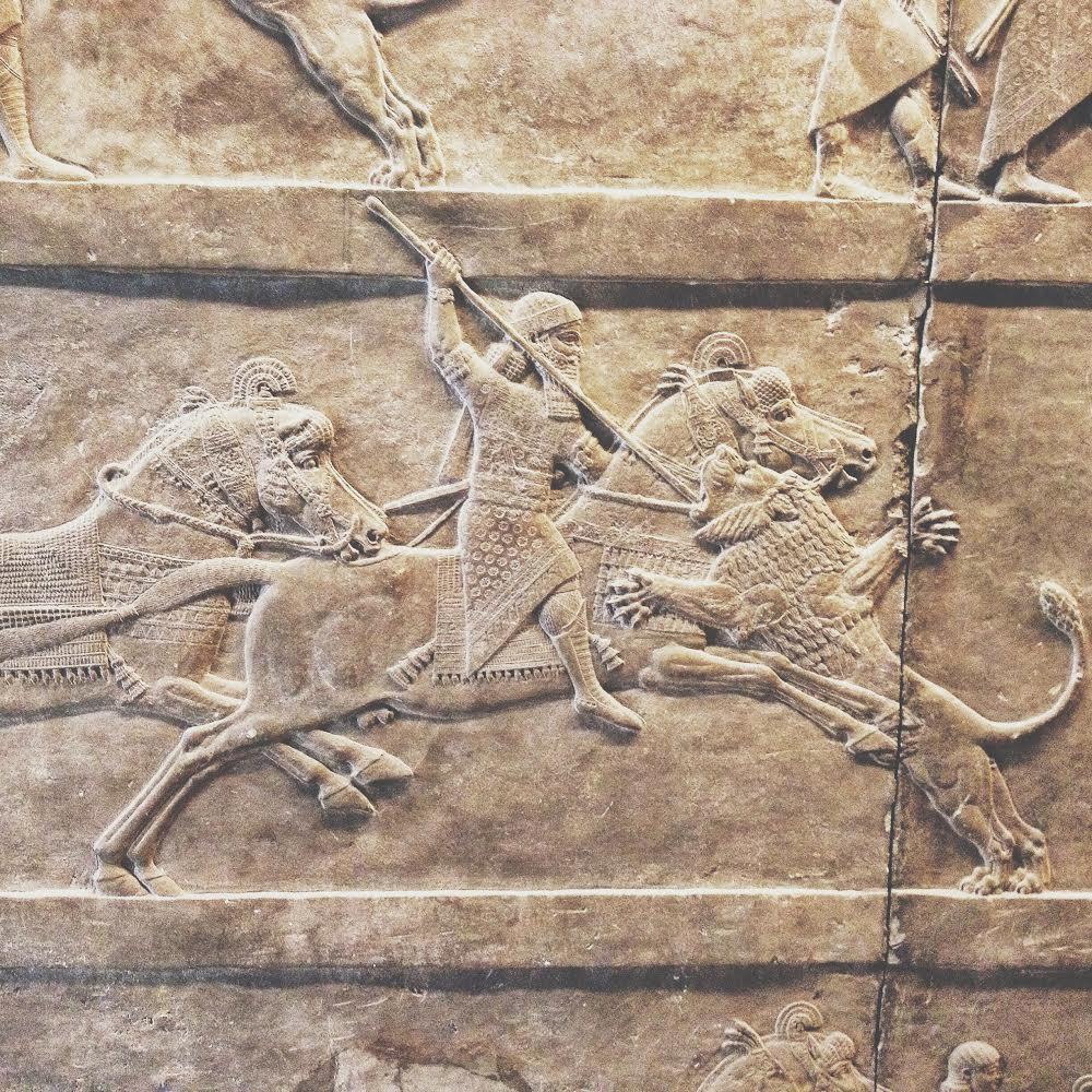 Assyrian fresco