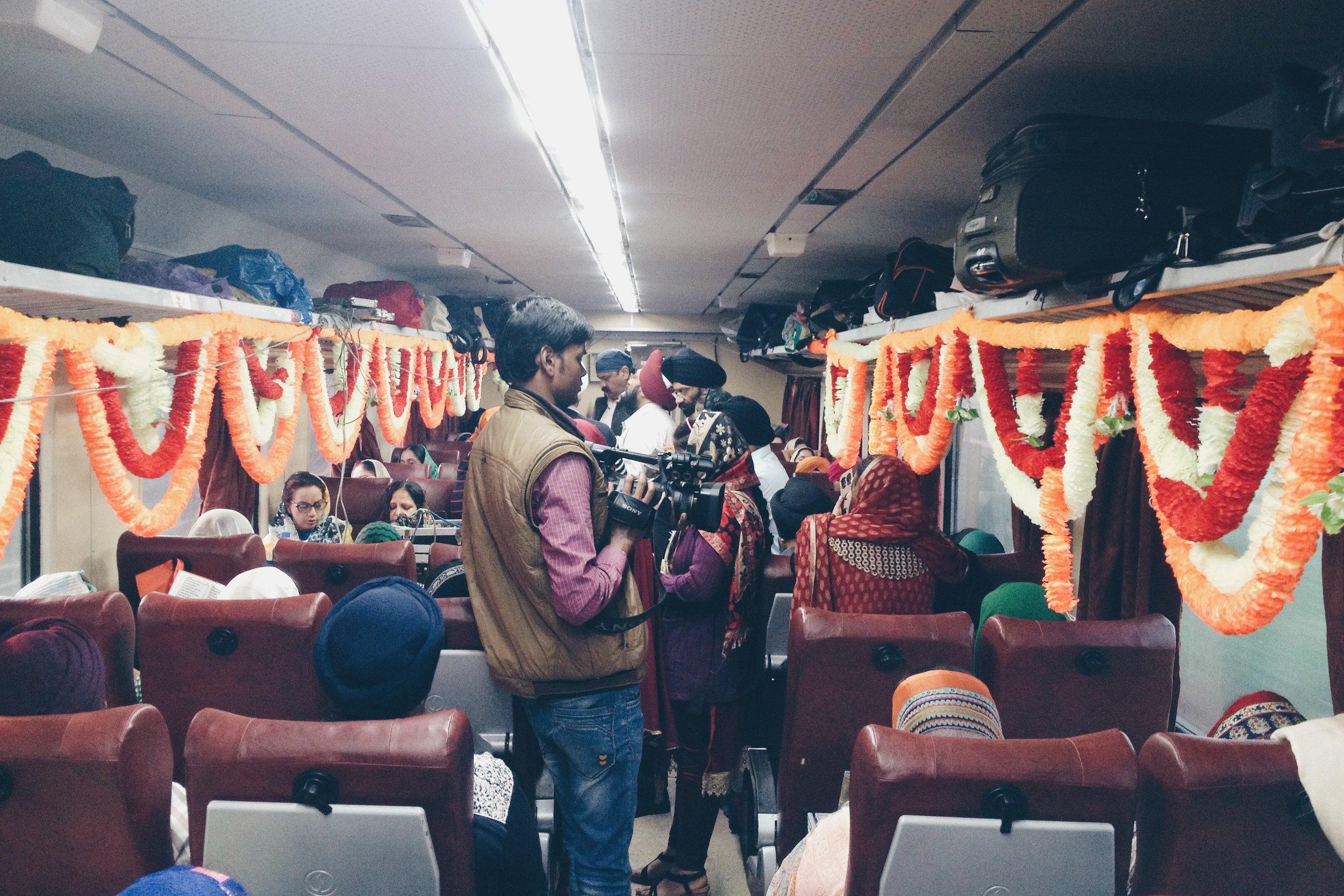 Train into Punjab
