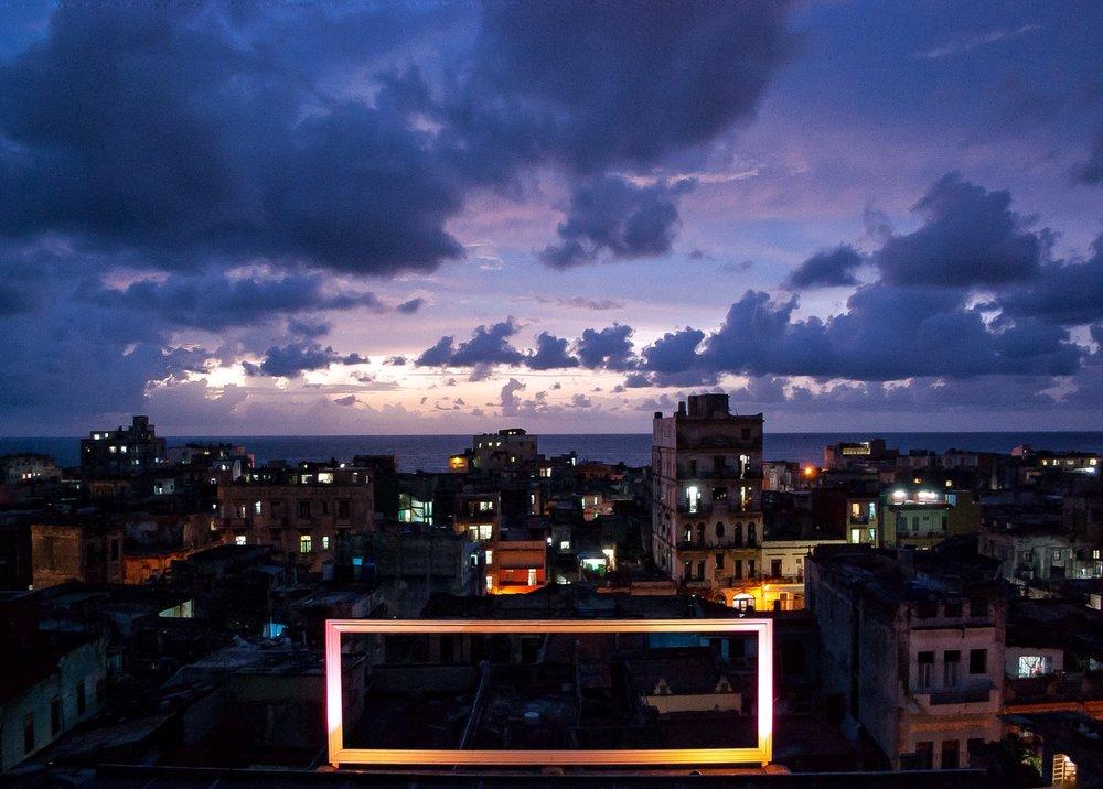 Havana's electric skies