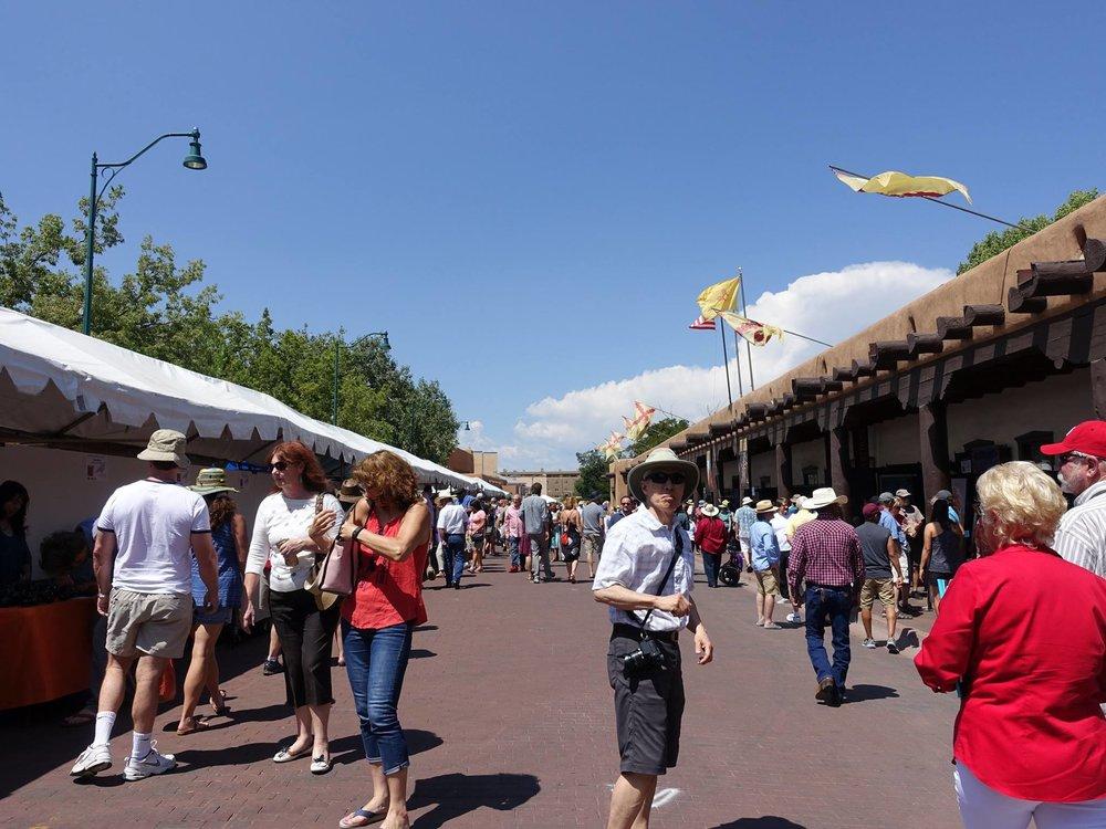 Santa Fe Indian Market 2015