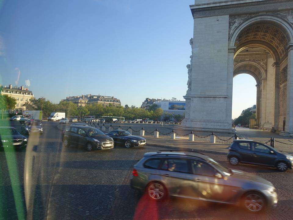 Leaving Paris