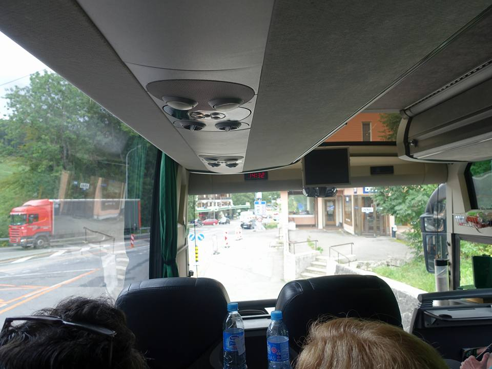 Coach ride from Paris to Lauterbrunnen