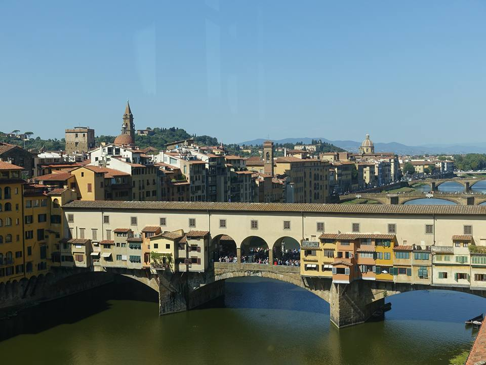 Ponte Vecchio in Florence, Italy: Oldest bridge in Florence