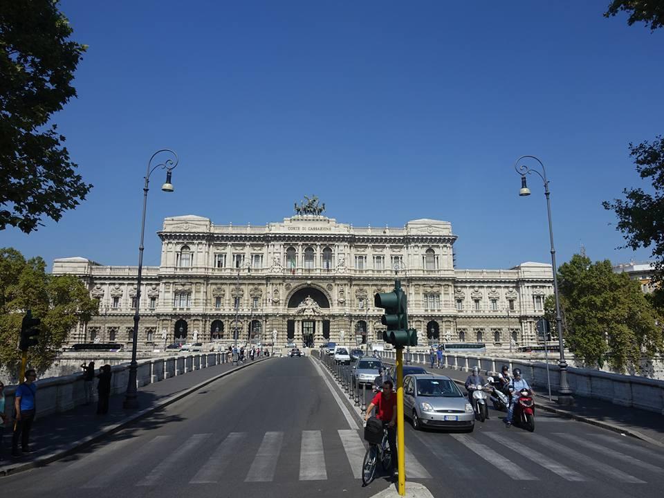 Palazzo di Giustizia (the Hall of Justice)