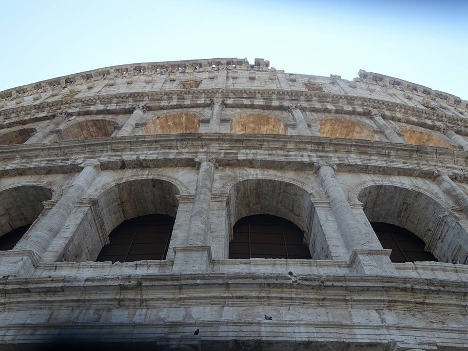 Colosseum and Forum