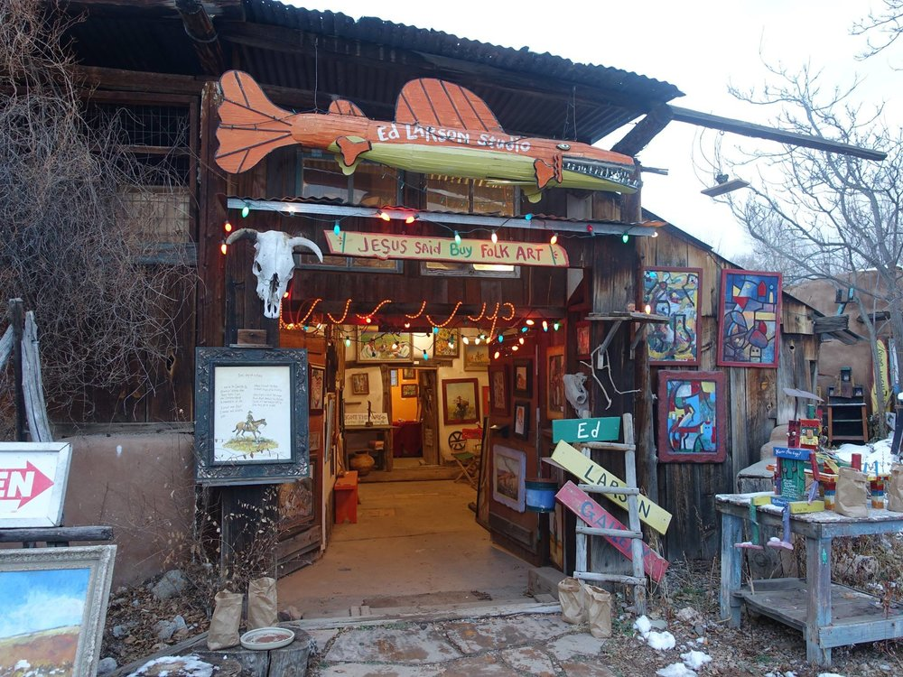 Santa Fe's Farolito Walk on Canyon Road