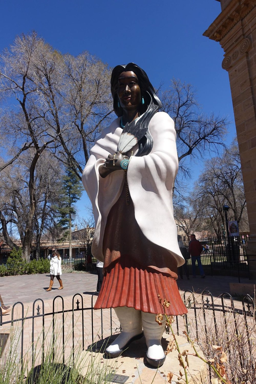 Santa Fe Plaza Sightseeing