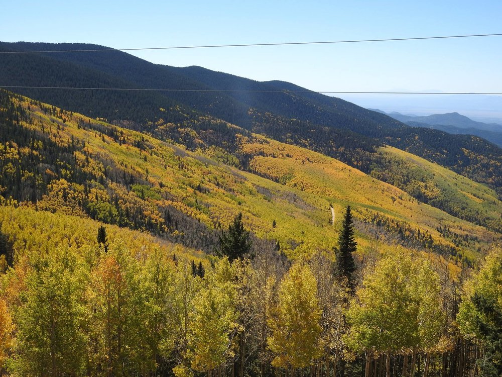 Santa Fe Ski Fall Colors 2016