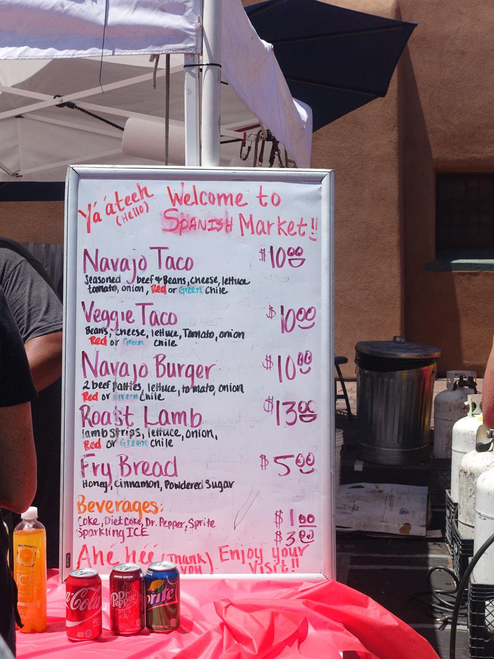 Platero Fry Bread & Navajo Tacos