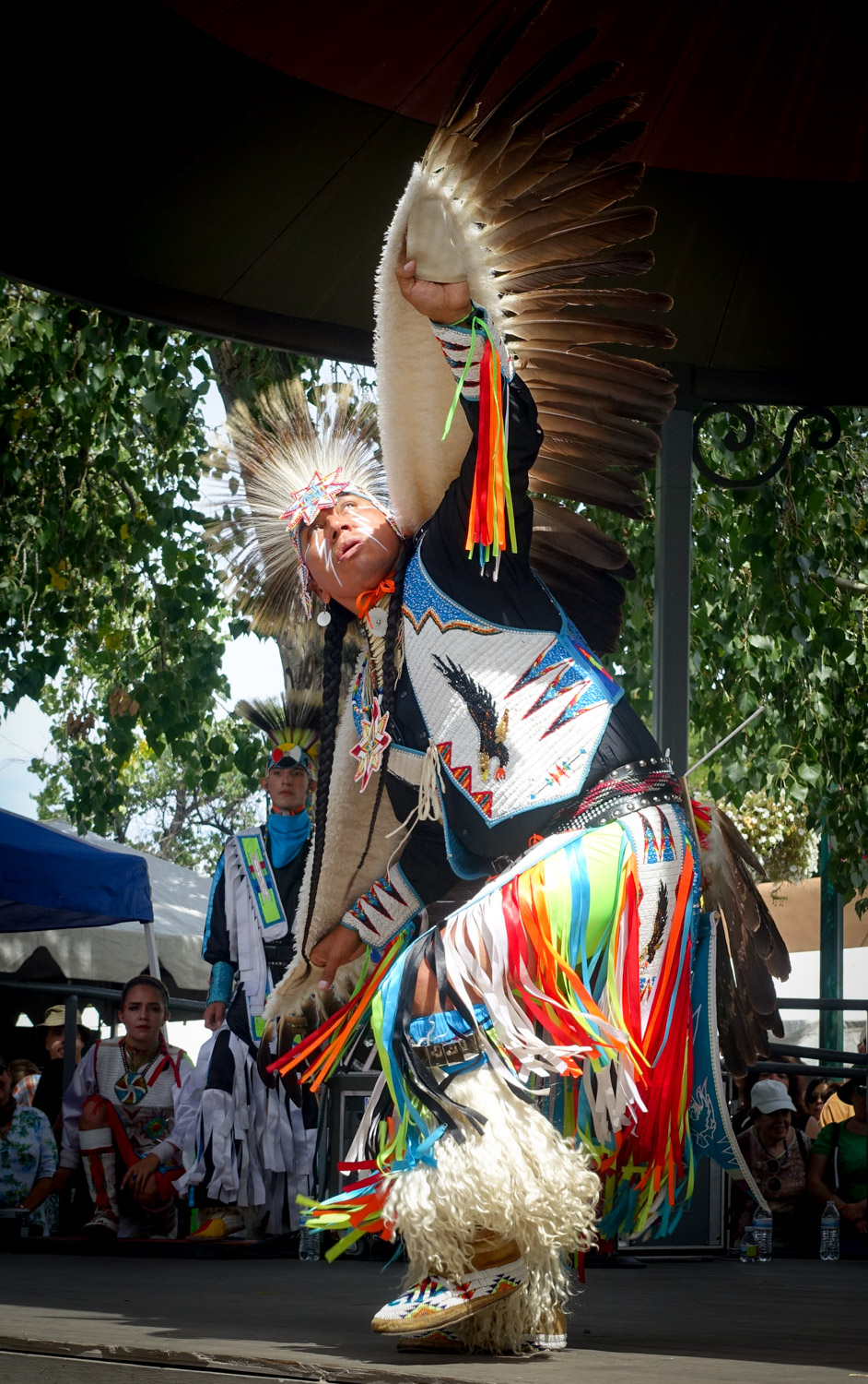 Fancy Dancer Larry Yazzie