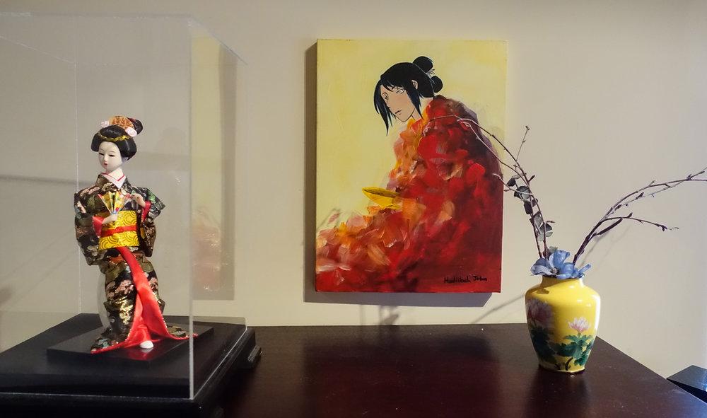 Painting by Hadiibah John