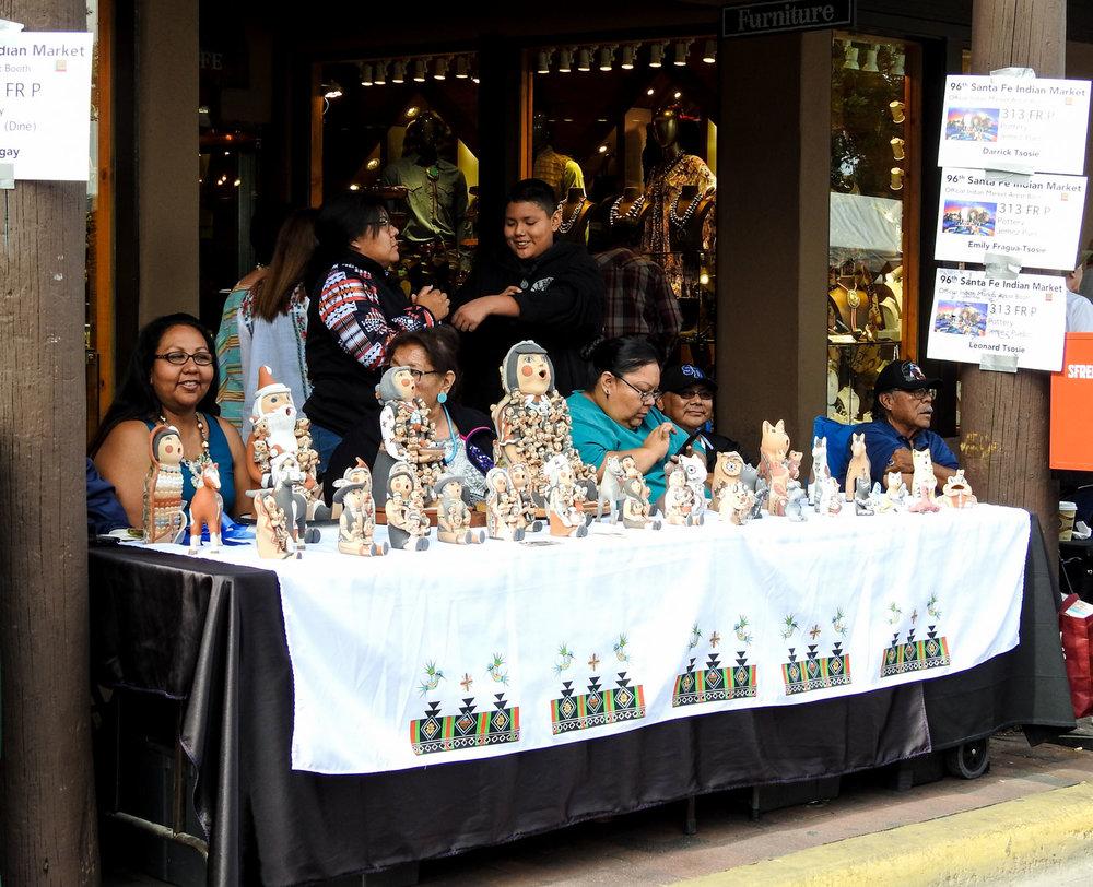 Pottery Storyteller Dolls