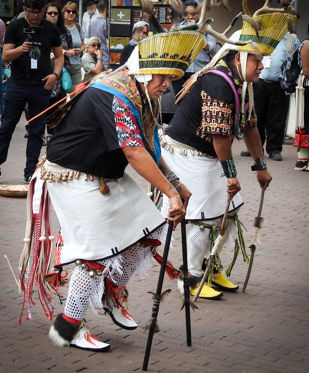 Zuni Pueblo Deer Dancers