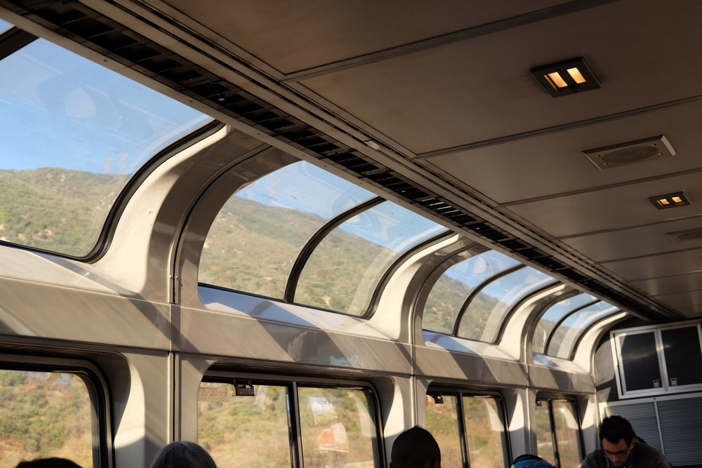 Lounge Car View Windows