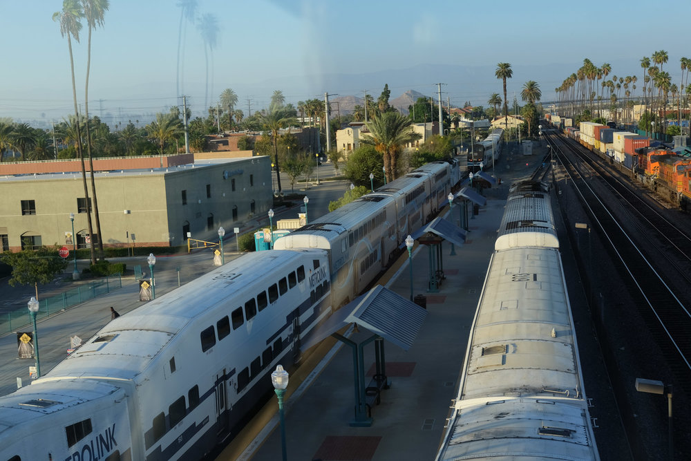 Riverside Metrolink Train Station