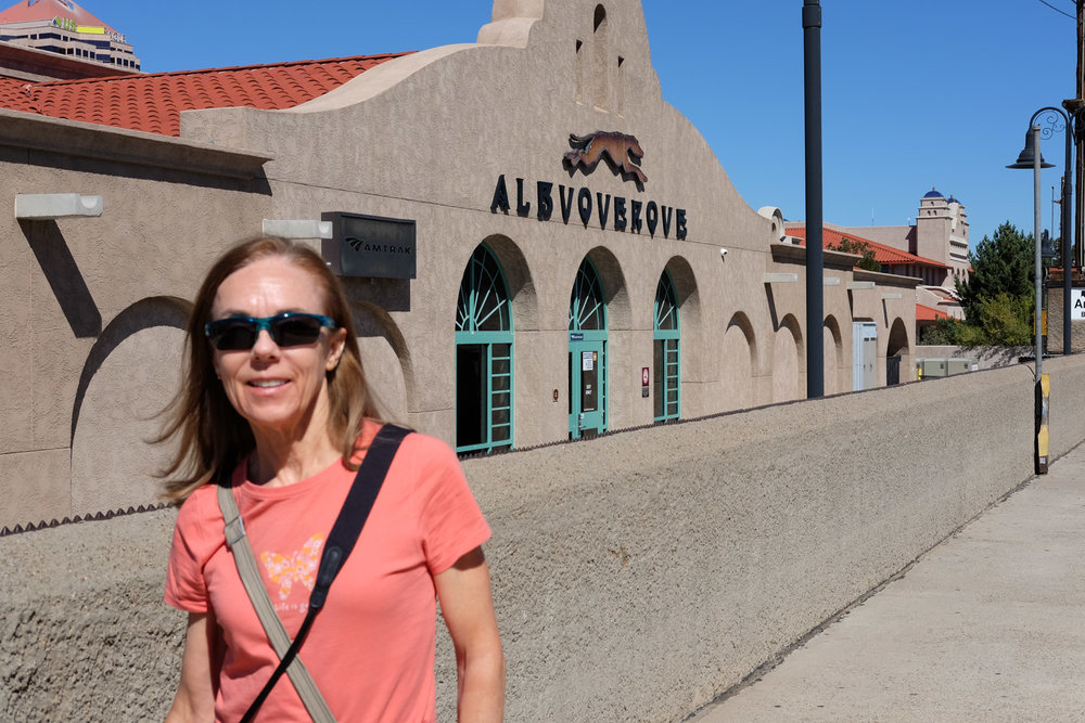 Albuquerque Train Station