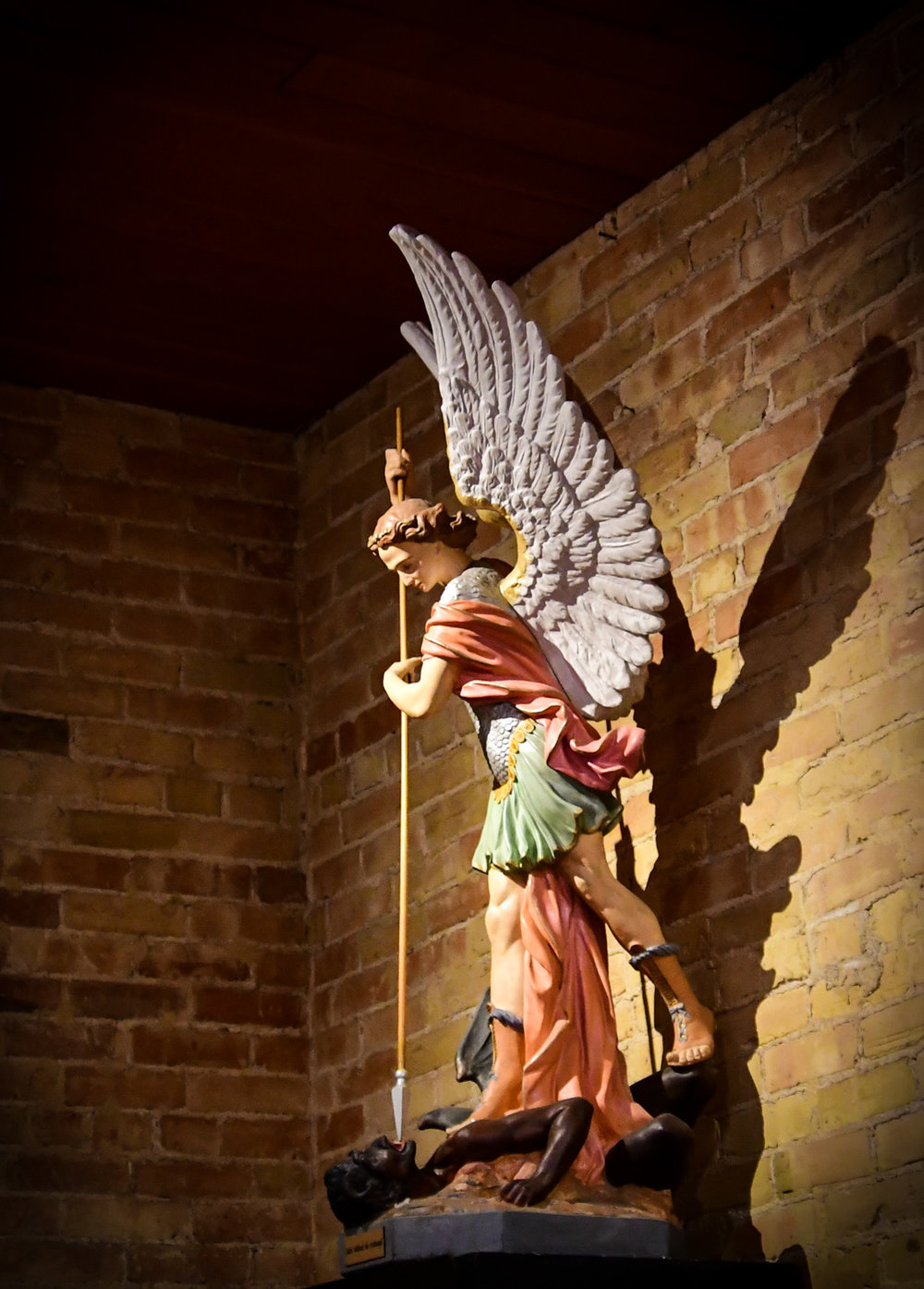 Saint Michael the Archangel, San Albino Basilica