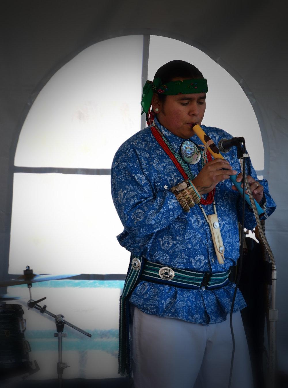Marlon Magdalena - Flute Player