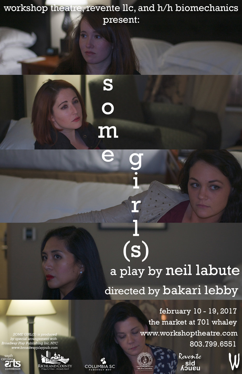 """Some Girl(s)"" for Workshop Theatre"