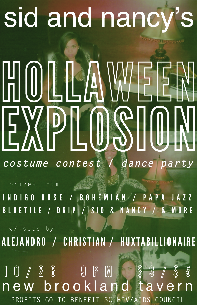 "Sid & Nancy's ""Hollaween Explosion"""