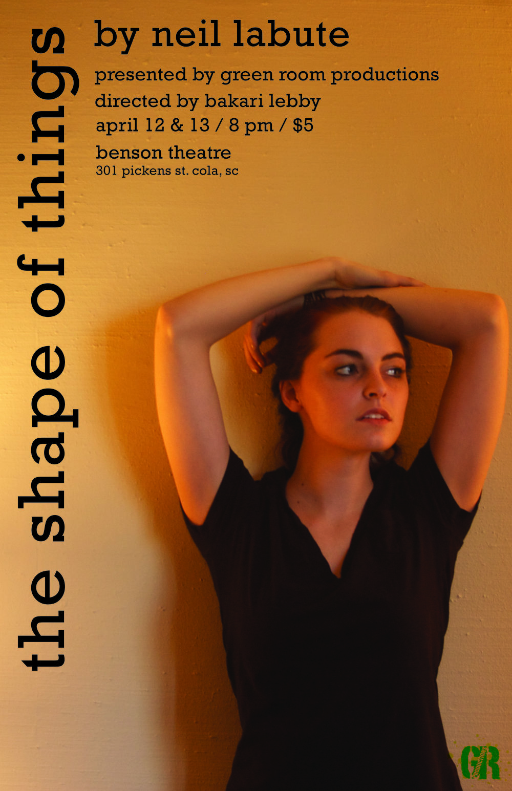 """the shape of things"" at Theatre South Carolina"
