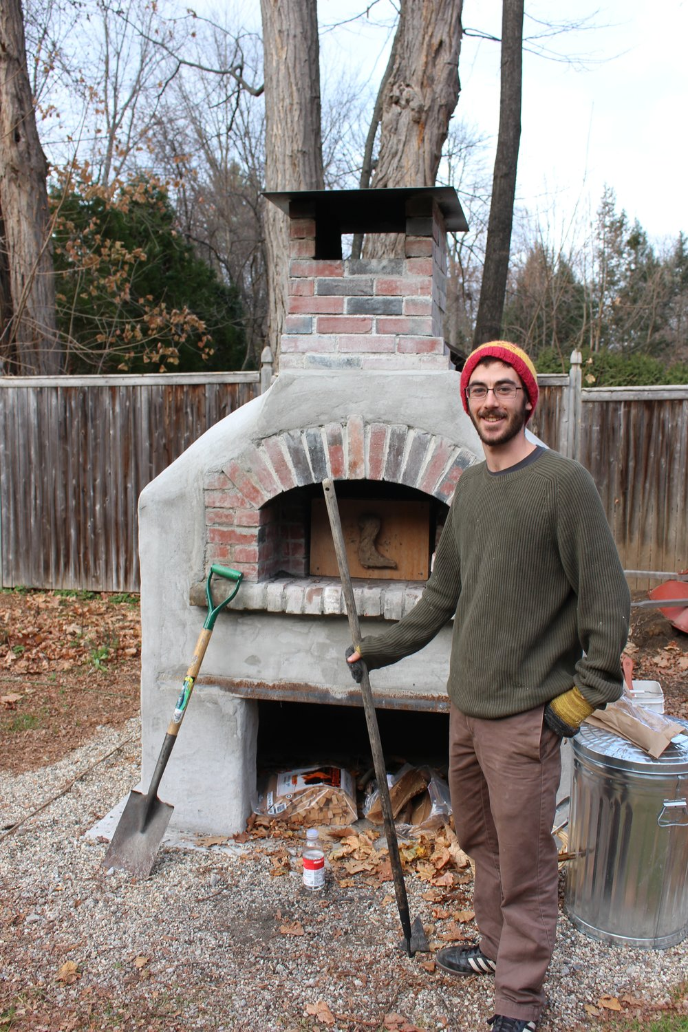 Sam with Jackie's oven.jpg